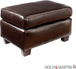 SEI Montfort Ottoman - Chocolate