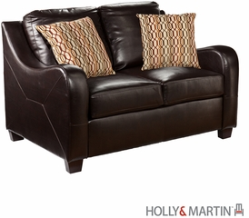 SEI Montfort Sofa / Love / Chair / Otto 4pc Set - Chocolate