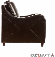 SEI Montfort Stationary Chair - Chocolate