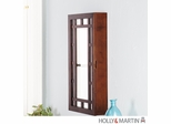 SEI Narita Wall Mount Jewelry Mirror