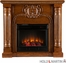 SEI Romano Electric Fireplace - Salem Antique Oak