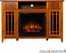 SEI Salinas Electric Media Fireplace - Mission Oak