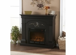 SEI Sicilian Harvest Black Electric Fireplace