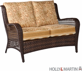SEI Siesta 4pc Steel Woven Deep Seating Set