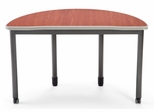 "Semi-Circle Desk 48"" Diameter - OFM - 66180"