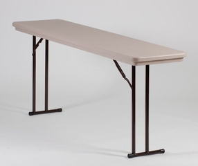 "Seminar Table with Off-Set Leg 18"" x 72"" - Correll Office Furniture - R1872"
