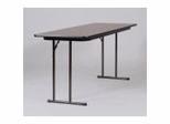 "Seminar Tables with Off-Set Leg 24"" x 72""- Correll Office Furniture - ST1872PX"