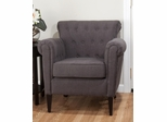 Serena Club Chair in Dark Graphite - SERENA-CH-GRAPH