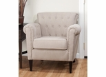 Serena Club Chair in Linen - SERENA-CH-LINEN
