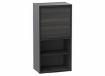 Sereni-T 1 Door Bookcase with 4 Adjustable Shelves - Nexera Furniture