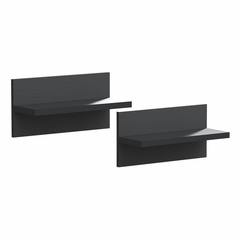 Sereni-T Pair of Decorative Wall Shelves - Nexera Furniture