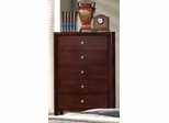 Serenity Merlot Drawer Chest - 201975