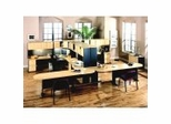 Series A / Advantage in Beech - Bush Office Furniture