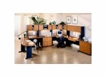 Series A / Advantage in Medium Cherry - Bush Office Furniture