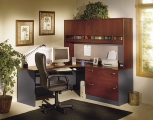 Series C Hansen Cherry Collection - Bush Office Furniture - SC-PKG-1-HC