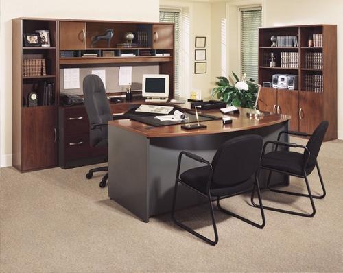 Series C Hansen Cherry Collection - Bush Office Furniture - SC-PKG-10-HC