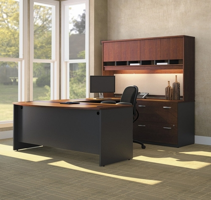 Series C Hansen Cherry Collection - Bush Office Furniture - SC-PKG-3-HC