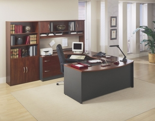 Series C Hansen Cherry Collection - Bush Office Furniture - SC-PKG-7-HC