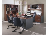 Series C Hansen Cherry Collection - Bush Office Furniture - SC-PKG-9-HC