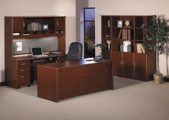 Series C Mahogany Collection - Bush Office Furniture - SC-PKG-2-MH