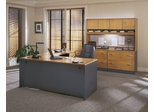 Series C Natural Cherry Collection - Bush Office Furniture - SC-PKG-4-NC