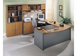 Series C Natural Cherry Collection - Bush Office Furniture - SC-PKG-5-NC