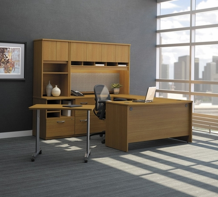 Series C Warm Oak Collection - Bush Office Furniture - SC-PKG-3-WO