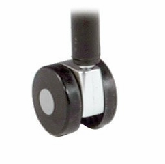 Set of 4 Casters for 404 - Black - OFM - 404-CAS