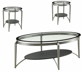 Set of Two End Tables and One Coffee Table - 700796