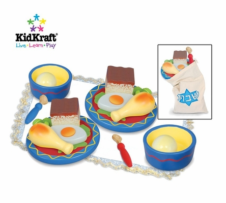 Shabbat Dinner for Two in Multi-Color - KidKraft Furniture - 62903