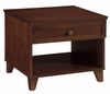 Shaker Style End Table in Dark Cherry - FT27SC