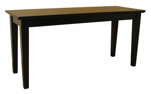 Shaker Styled Bench in Black - BE46-39