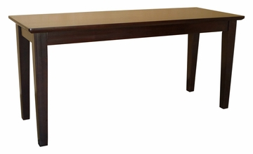 Shaker Styled Bench in Java - BE15-39