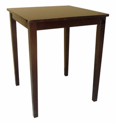 Shaker Styled Square Counter Height Table in Java - T15-3030GS