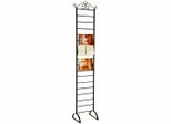 Shelf/Blanket/Magazine/Towel Rack - Black - Pangaea Home and Garden Furniture - FM-0010-K