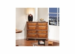 Sherwood Hall Chest with Drawers Antique Oak - Largo - LARGO-ST-T833-135