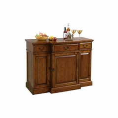 Shiraz Bar Cabinet - Indian Summer Finish - Howard Miller