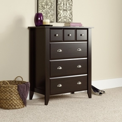 Shoal Creek 4-Drawer Chest Jamocha Wood - Sauder Furniture - 409714
