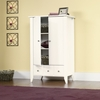 Shoal Creek Armoire Soft White - Sauder Furniture - 411202