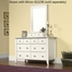 Shoal Creek Dresser Soft White - Sauder Furniture - 411201