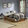 Shoal Creek Mates Bed Oiled Oak - Sauder Furniture - 411899