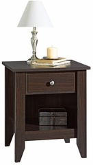 Shoal Creek Night Stand Jamocha Wood - Sauder Furniture - 409942
