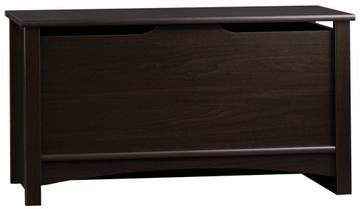 Shoal Creek Storage Chest Jamocha Wood - Sauder Furniture - 412092