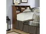 Shoal Creek Twin Bookcase Headboard Oiled Oak - Sauder Furniture - 411904