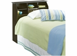 Shoal Creek Twin Headboard Jamocha Wood - Sauder Furniture - 409943
