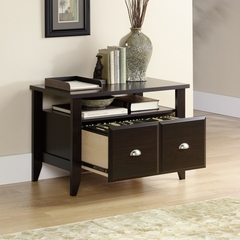 Shoal Creek Utility Stand Jamocha Wood - Sauder Furniture - 409944