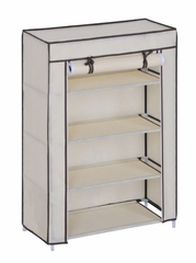 Shoe Rack Organizer in Beige - FG-1003BEIGE