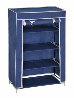 Shoe Rack Organizer in Blue - FG-1003BLUE