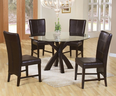 Shoemaker 5PC Round Dining Set  - 101071