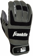 Shok-Sorb Pro Series Home & Away Adult Batting Glove Black - Franklin Sports